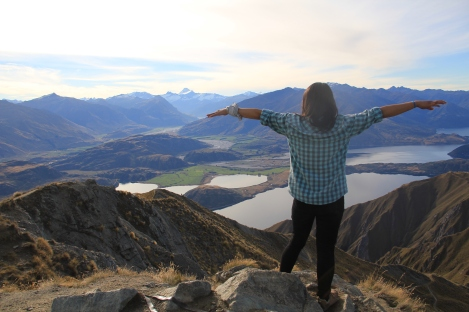 shoot taken at Roy's Peak, Wanaka New Zealand